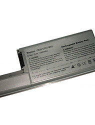 Replacement Laptop Battery GSD0820 for DELL Latitude D820/D531/D830 (11.1V 7200mAh)