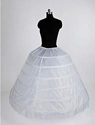Nylon Ball Gown Full Gown 1 Tier Floor-length Slip Style/ Wedding Petticoats