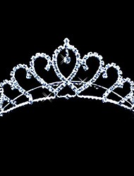 Beautiful Alloy With Czech Rhinestones Wedding Tiara/ Headpiece