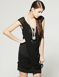 TS плечо точки зрения дизайна платье без рукавов