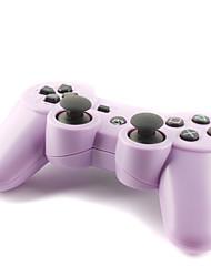 recargable mando inalámbrico para PlayStation usb doubleshock 3/ps3 (púrpura)