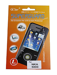 Screen Protector for Nokia5800