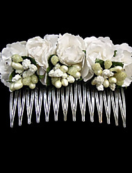 Flower Girl's Stainless Steel Paper Headpiece-Wedding Special Occasion Casual Hair Combs