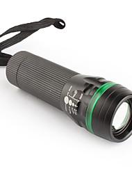 mxdl 3W LED 3-Modus konzentrieren Taschenlampe 3xAAA schwarz-grün