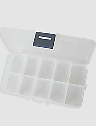Makeup Storage Cosmetic Box 14.0×7.5×3.3 White