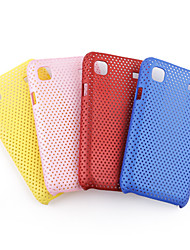 mailler le cas le style de protection pour Samsung i9000 (couleurs assorties)