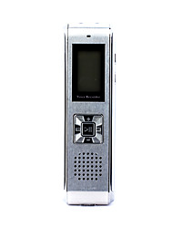 Mini Digital Voice Recorder with MP3 Player and Telephone Recorder, FM Radio, 2GB Memory Included