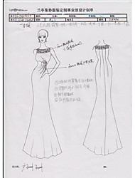 Long Bridesmaid Dress 11062703