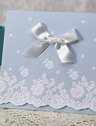ciel bleu clair à trois volets invitation jeu pur et frais de 50/20