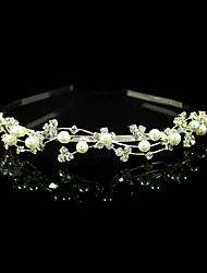 Women's Alloy Imitation Pearl Headpiece-Wedding Special Occasion Headbands