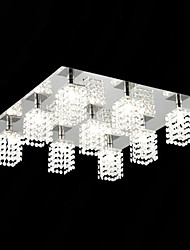 Crystal Flush Mount , Modern/Contemporary Living Room/Dining Room Metal