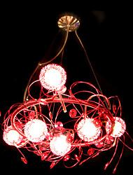 Пост модерная подвеска с шестью лампами (Концепция Дизайн)