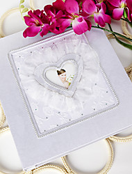 Luxury Photo Album with Organza Design