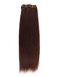 "100% Indian Remy Hair 18"" Machine Made Yaki Weft 26 Colors To Choose"