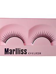 Professional Fashion Eyelashes With Lash Glue 133# - 1 Pair Per Box, Uniquely Designed Eyelashes