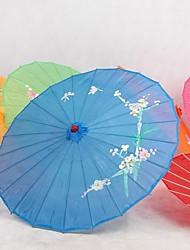 Шелк Вентиляторы и зонтики Пьеса / Установить Зонты Сад Азия Синий 48 см высота × 82 см диаметр Высота 48 см