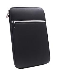 """14 """"einfaches Design Laptopfach schützt strukturierte Fall mit zwei Taschen"""