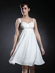 SAMANTA - Robe de Cocktail Mousseline Satin