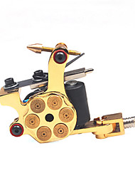 Top Quality Cast Iron Tattoo Machine Liner and Shader Revolver Design