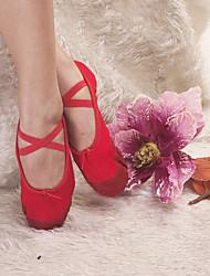 zapatos de calidad superior de lona zapatillas de ballet de danza de colores para adultos y niños más
