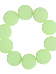 Glow-in-the-Dark Silicone Tailcaps for Flashlights (14mm Green / 10-Pack)