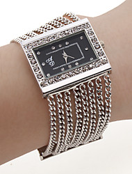 Fashion Alloy Band Quartz Bracelet Watch For Women