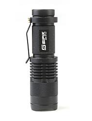 sipik SK68 1 mode cree xr-e Q3 LED lampe de poche (120lm, 1x14500)