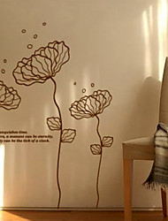 Delicate Flower Wall Stickers (1985-P25)