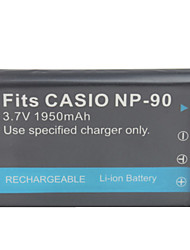 1950mAh 3.7V Digital Camera Battery NP-90 for CASIO Exilim EX-H10
