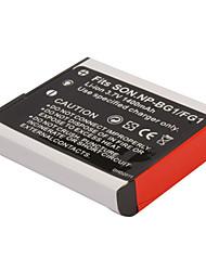1400mAh batería de la cámara np-bg1/fg1 para Sony DSC-W30 DSC-W35, DSC-W40 y más