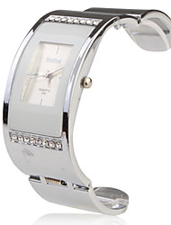 Stainless Steel Bracelet Band Wrist Watch - White Cool Watches Unique Watches Fashion Watch