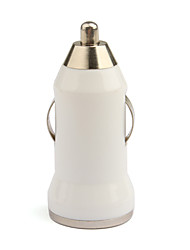 Mini USB Car Charger - White for iPhone 6 iPhone 6 Plus