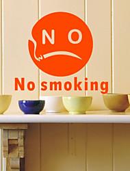 não fumar-2 adesivos de parede (1985-p.39)