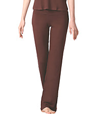 Bottoms Women's Modal Coffee Yoga Spring, Fall, Winter, Summer Dropped