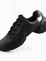 reais couro superior de dança sapatilha de dança sapatos para adulto
