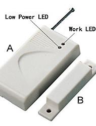 Беспроводный, магнитный контакт для дверей и окон + 433M
