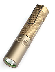 uniquefire aa-s1 um modo lanterna LED (160lm, 1x14500, ouro)