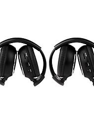 2 pièces à infrarouge stéréo de voiture sans fil pour casque IR-2011d