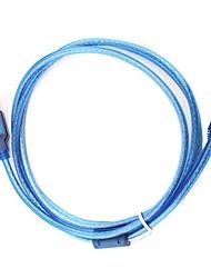 1,2 m usb 5-pins kabel (blauw)