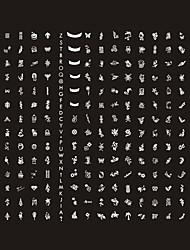 Placa de Imagens para Nail Art - 268 Desenhos