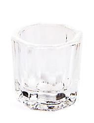 cristaux dappen plat nail art powde liquides acrylice