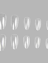 100 Pro Clear Well False Acrylic Nail Art Tips