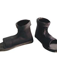 Zapatos de Cosplay Naruto Hatake Kakashi Animé Zapatos de cosplay Negro Hombre