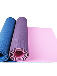 eco-friendly tpe extra grosso extra longa yoga pilates mat (6mm)