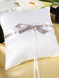 Подушка для обручальных колец, с элегантным узлом