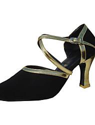 Customize Performance Dance Shoes Velvet Upper Modern Shoes for Women