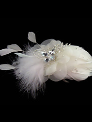 Women's Feather Headpiece-Wedding Special Occasion Fascinators Flowers