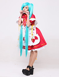 Hatsune Miku: Project DIVA 2 Little Red VER.Cosplay Costume