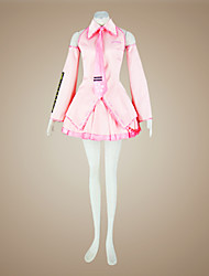 Cosplay Costume Inspired by Vocaloid Sakura Miku  (Pink Version)