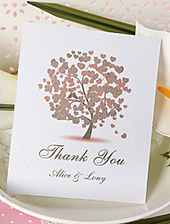 Thank You Card - Heart Tree (Set of 50)